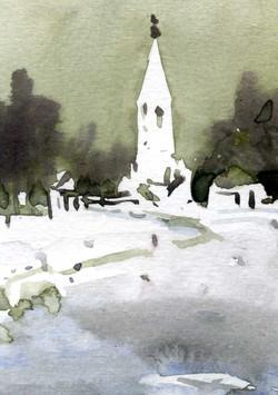 Храмы 23 (Акварель/Watercolor)