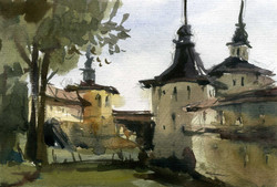 Храмы 31 (Акварель/Watercolor)