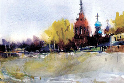 Храмы 8 (Акварель/Watercolor)