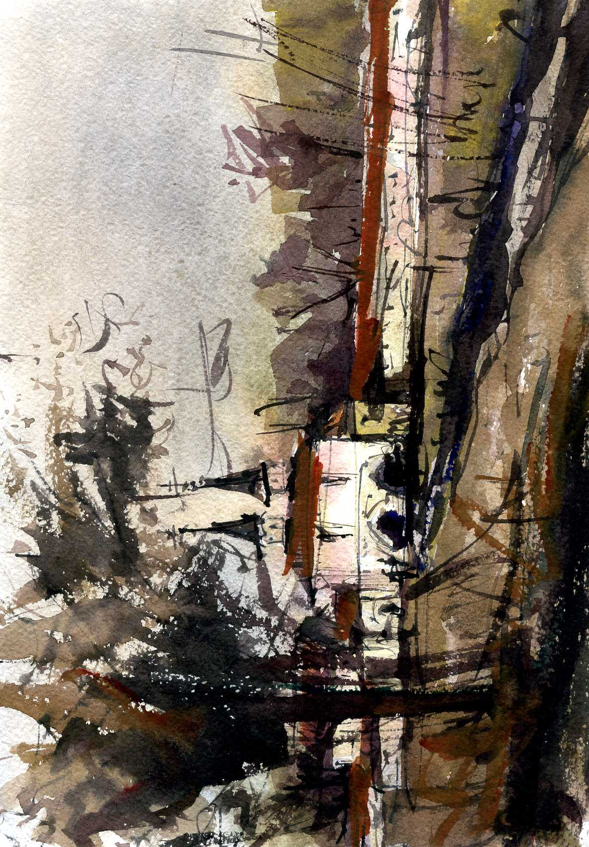 Храмы 11 (Акварель/Watercolor)
