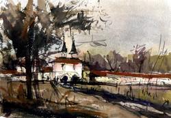 Храмы 11 (Акварель/Watercolor)