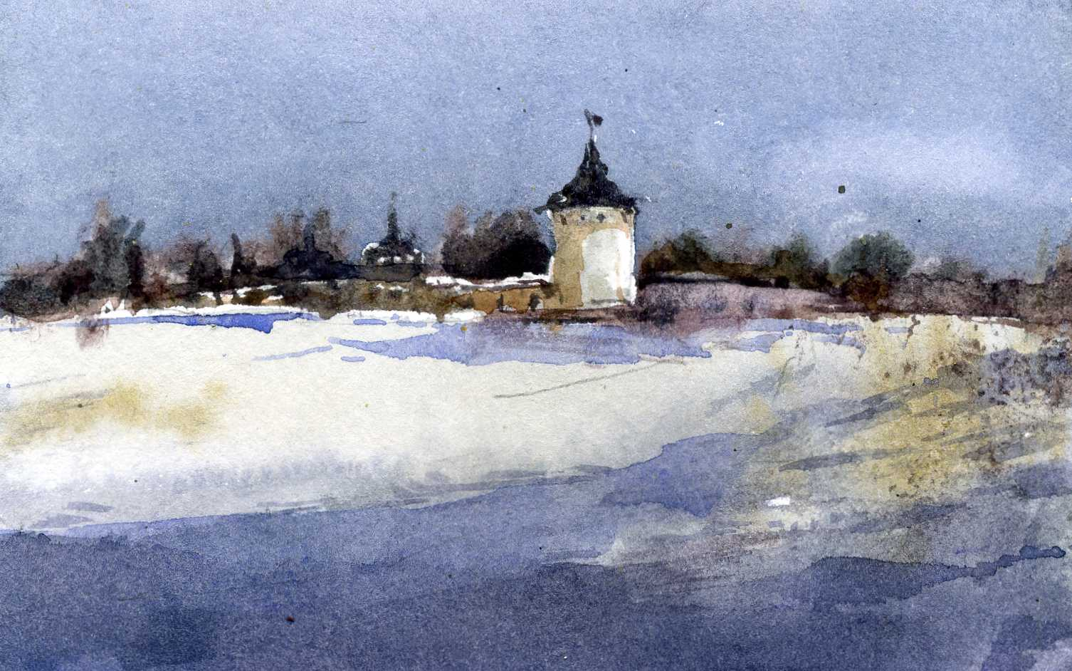 Храмы 33 (Акварель/Watercolor)
