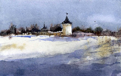 Храмы 33 (Акварель/Watercolor)