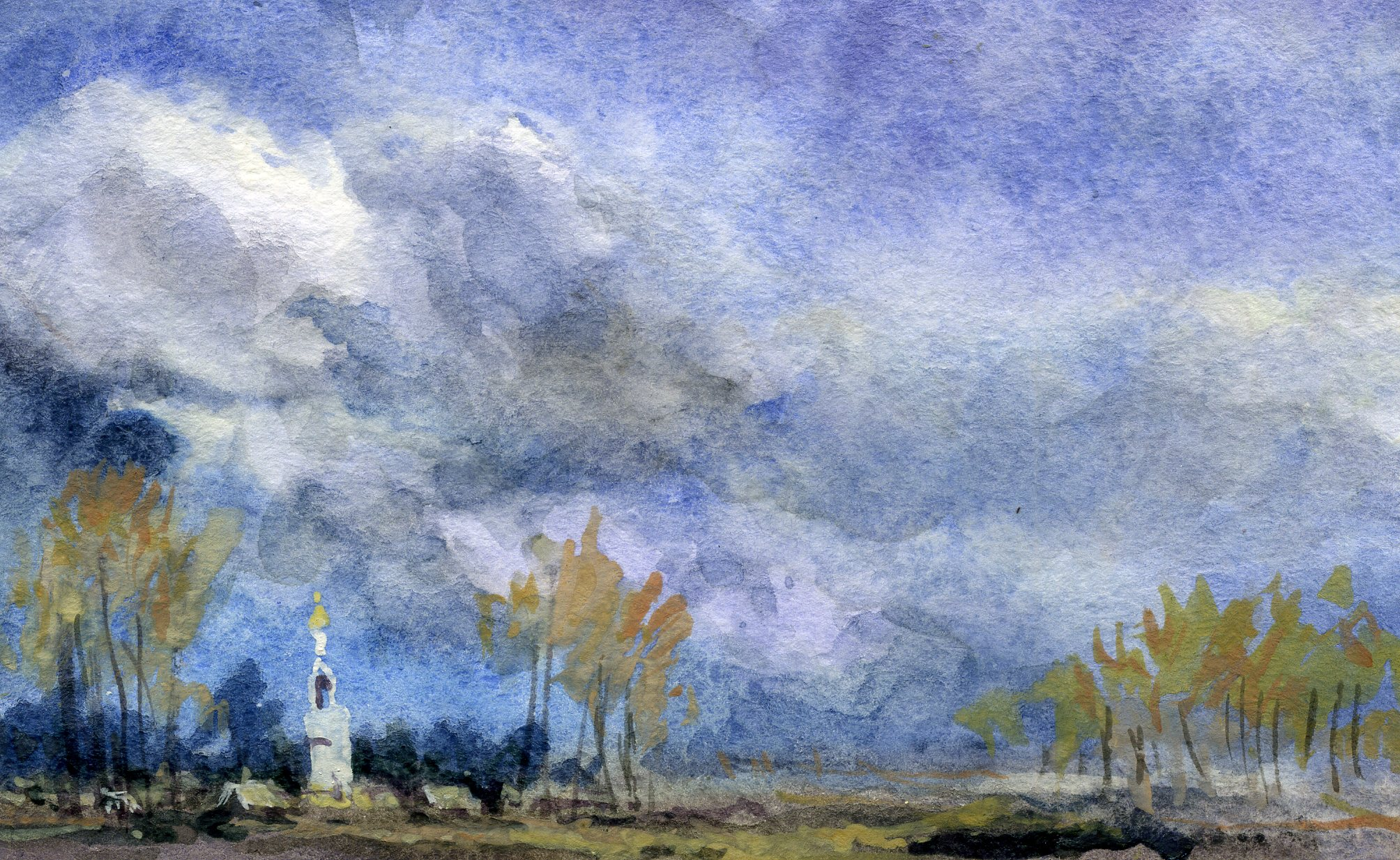 Храмы 56 (Акварель/Watercolor)
