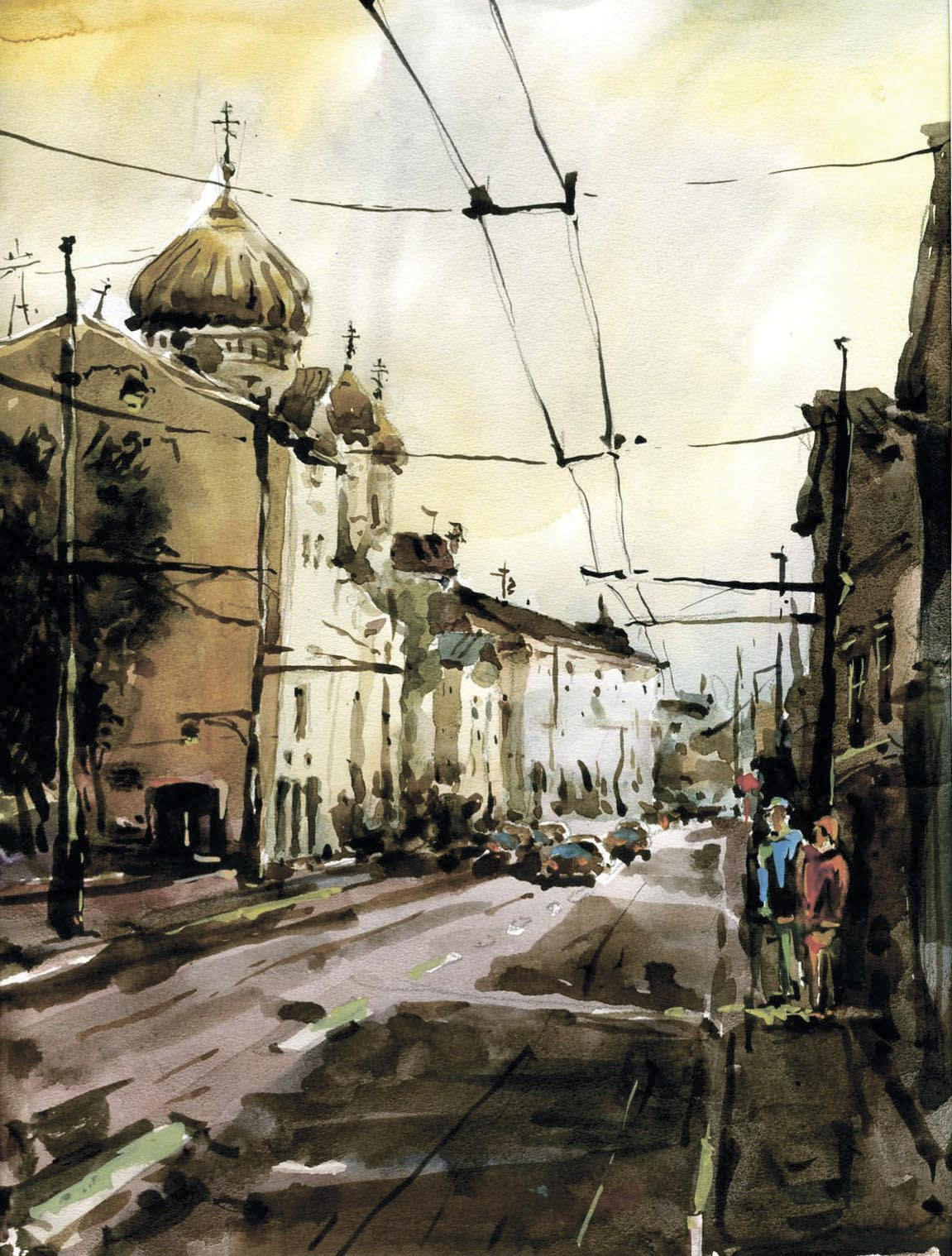 Город 9 (Акварель/Watercolor)