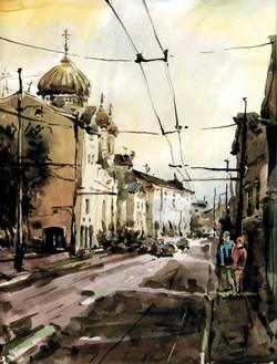 Город 9 (Акварель/Watercolor)
