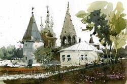 Храмы 20 (Акварель/Watercolor)