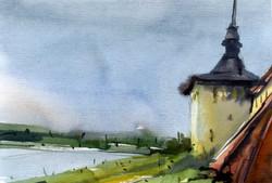 Храмы 30 (Акварель/Watercolor)