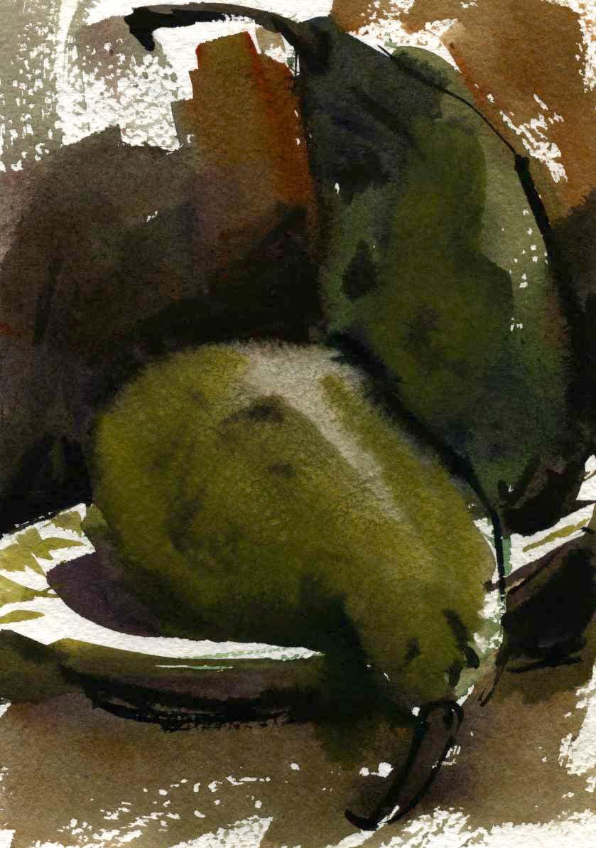 Предметы 6 (Акварель/Watercolor)