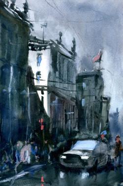 Город 28 (Акварель/Watercolor)