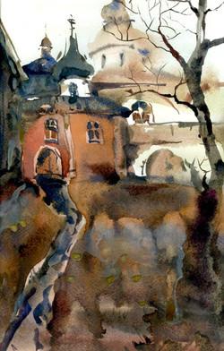 Храмы 72 (Акварель/Watercolor)