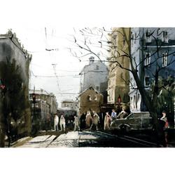 Город 20 (Акварель/Watercolor)