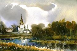 Храмы 13 (Акварель/Watercolor)