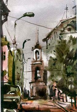 Город 29 (Акварель/Watercolor)