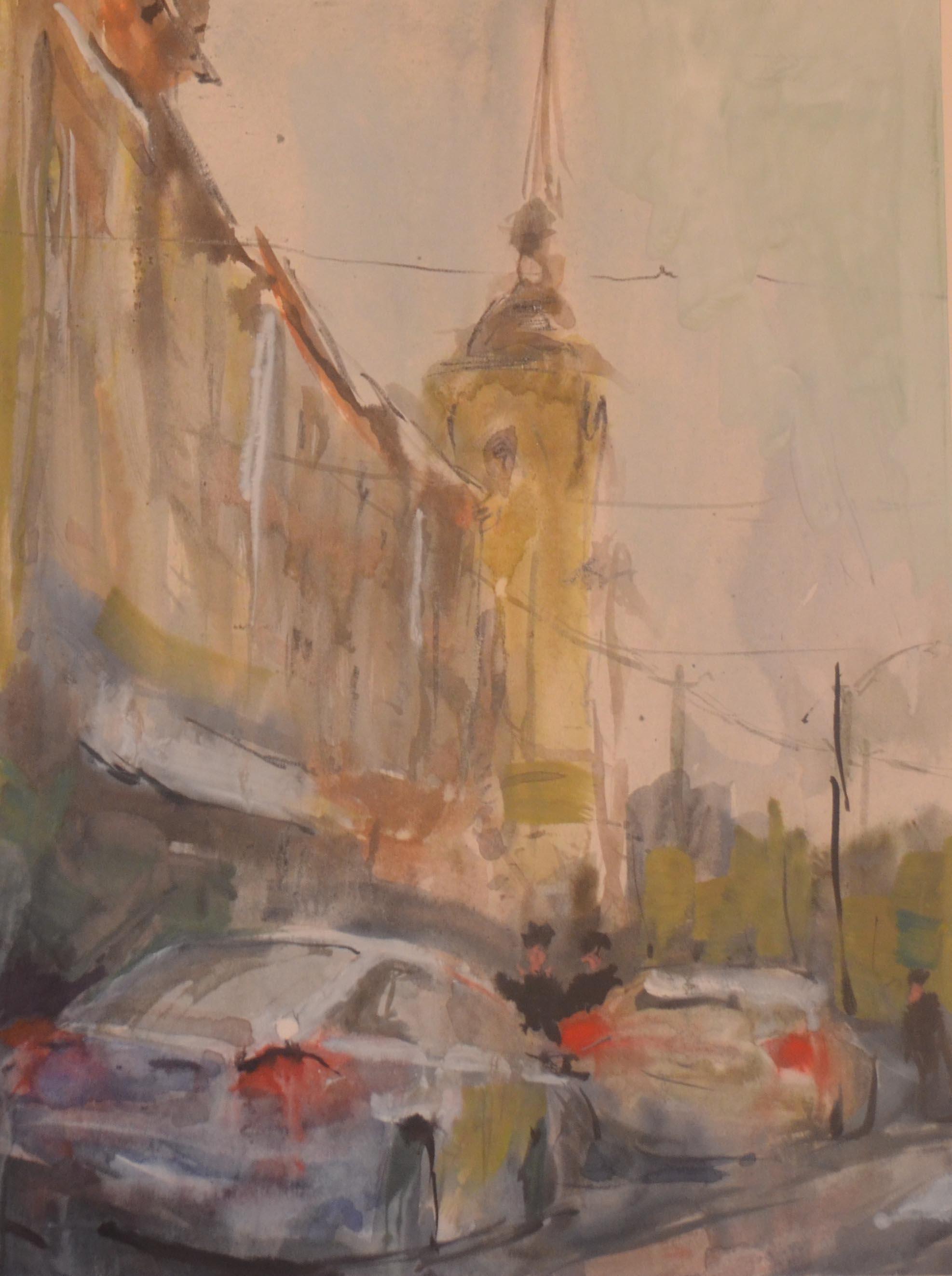 Город 31 (Акварель/Watercolor)