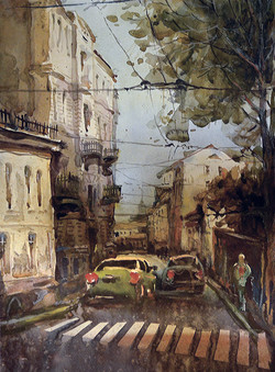 Город 8 (Акварель/Watercolor)
