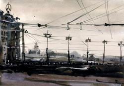 Город 24 (Акварель/Watercolor)