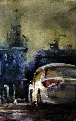Город 36 (Акварель/Watercolor)