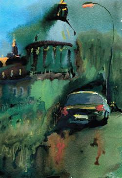 Город 18 (Акварель/Watercolor)
