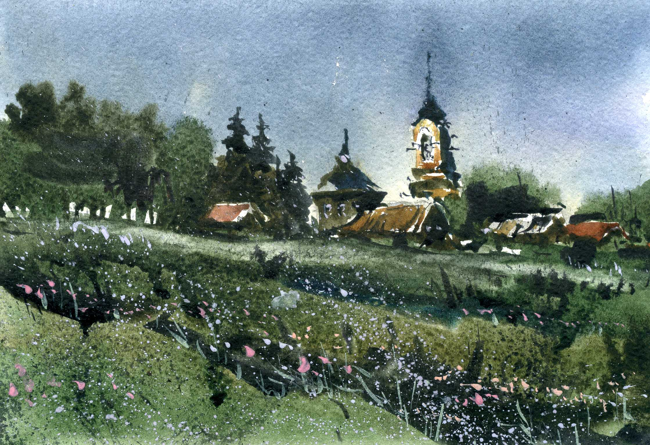 Храмы 47 (Акварель/Watercolor)