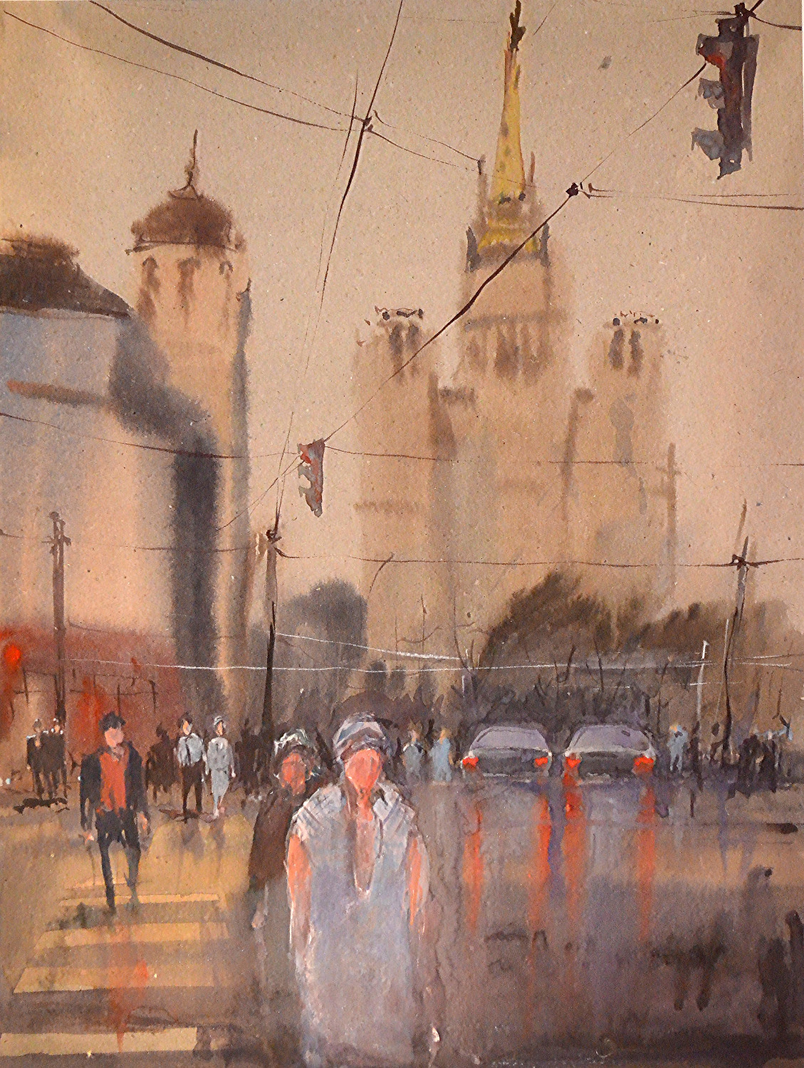Город 6 (Акварель/Watercolor)