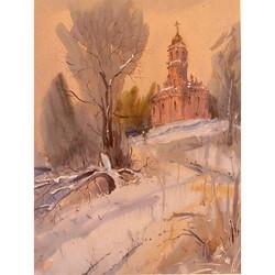 Храмы 77 (Акварель/Watercolor)