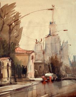 Город 13 (Акварель/Watercolor)