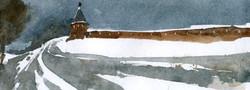 Храмы 17 (Акварель/Watercolor)