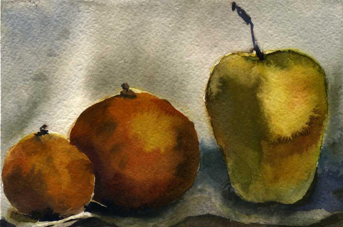 Предметы 21 (Акварель/Watercolor)