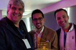 Escala 24x7 recibe el Think Big Award en Bogotá