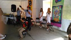 Actividades en el evento.