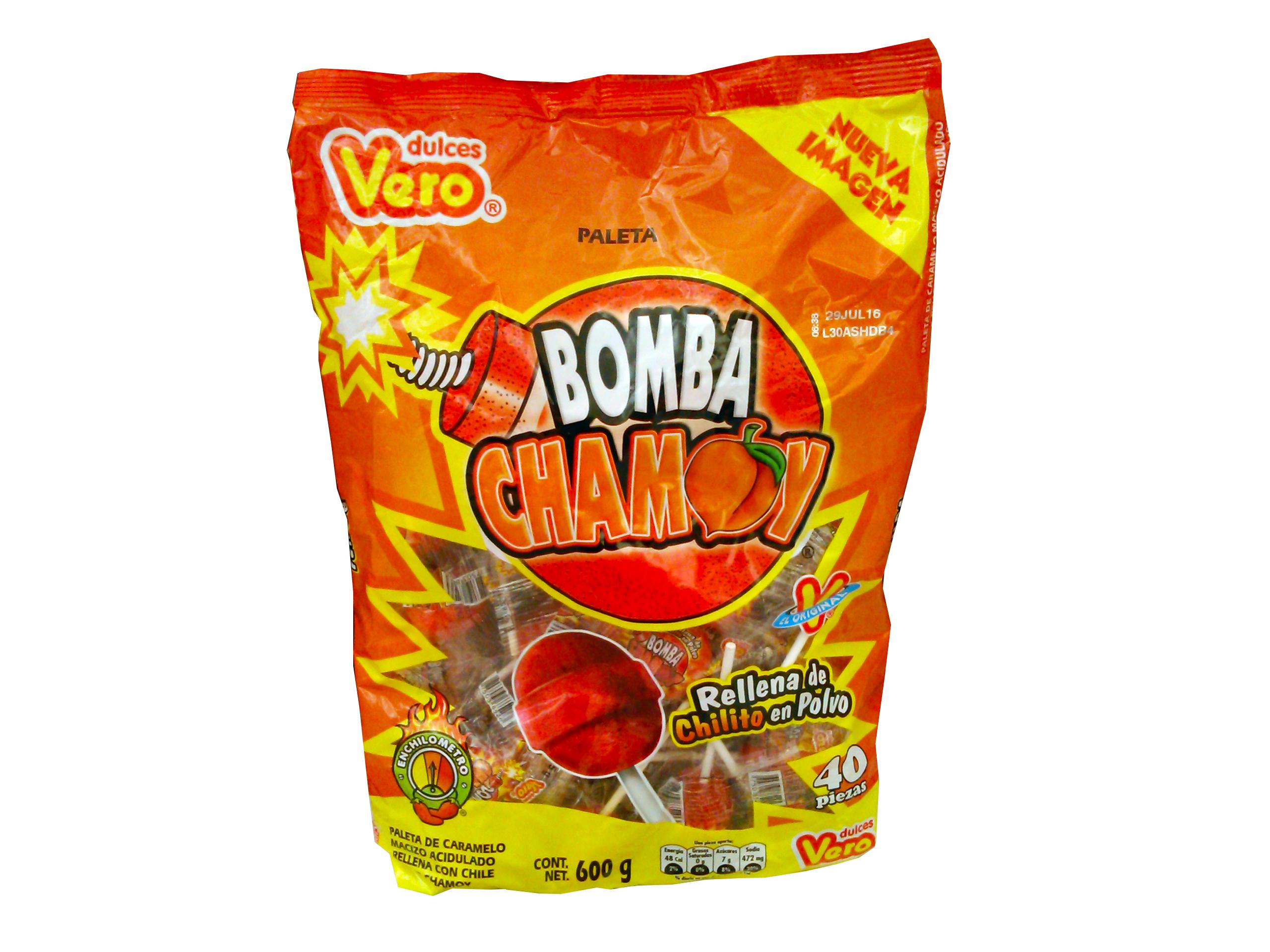 VERO  BOMBA CHAMOY