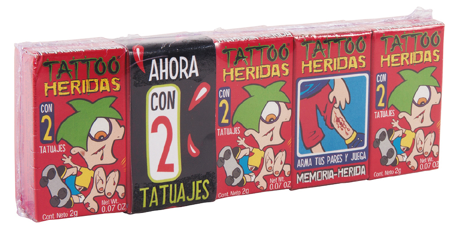 tatoo heridas