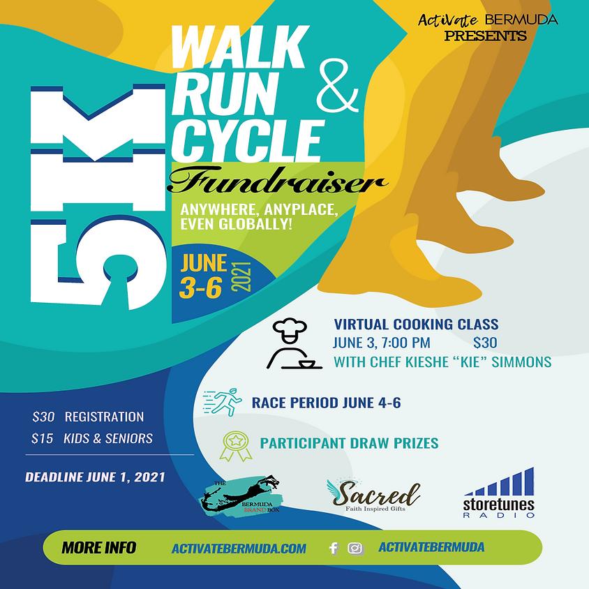5K Walk Run Cycle Fundraiser