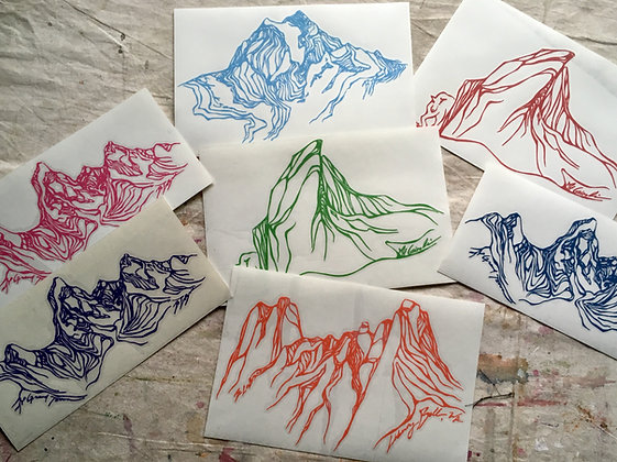 Mountain Decals