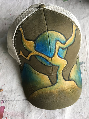 Joshua Tree Inspired Trucker's Hat-Donated to the Bower Climbing Coalition