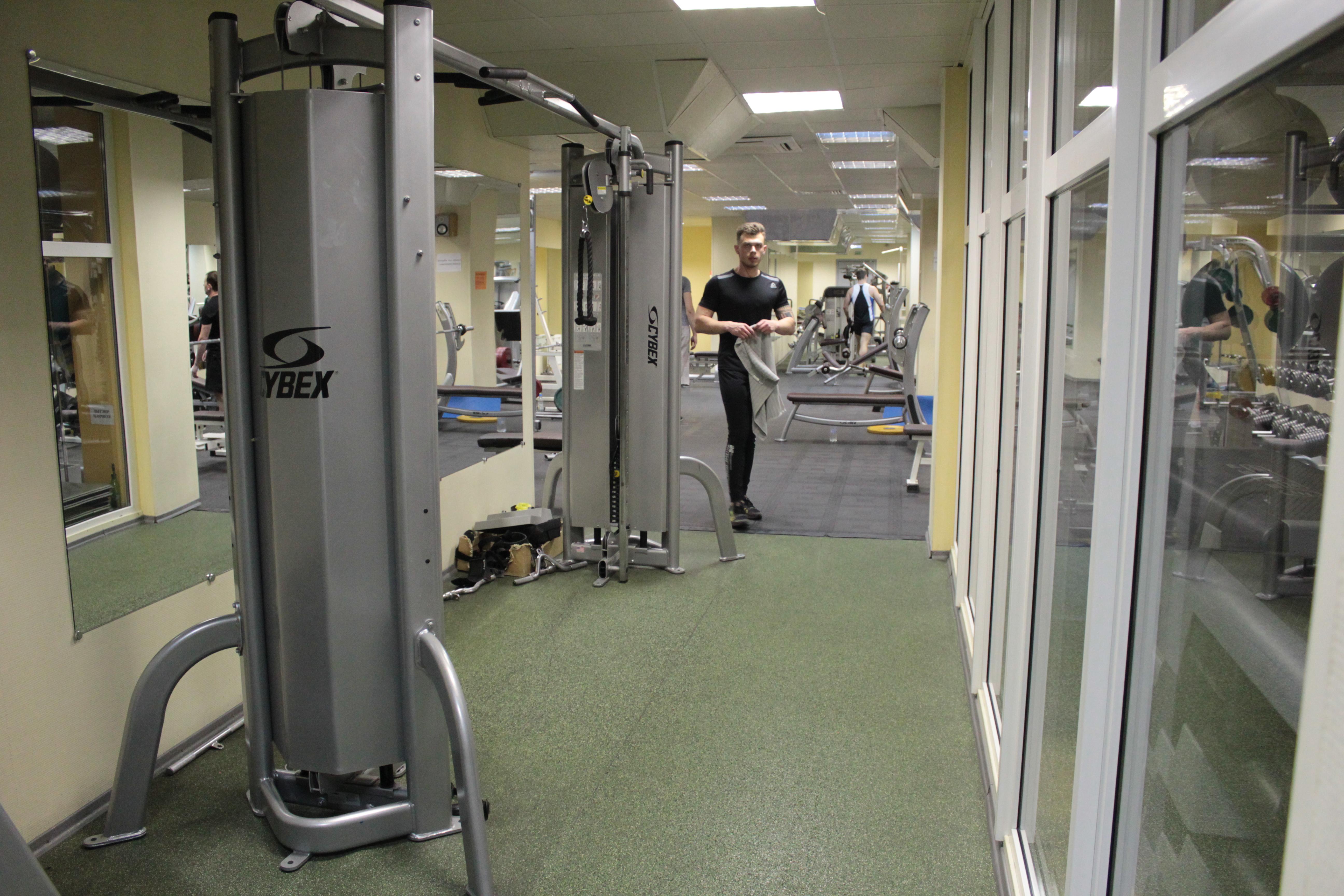 тренировки в тренажерном зале
