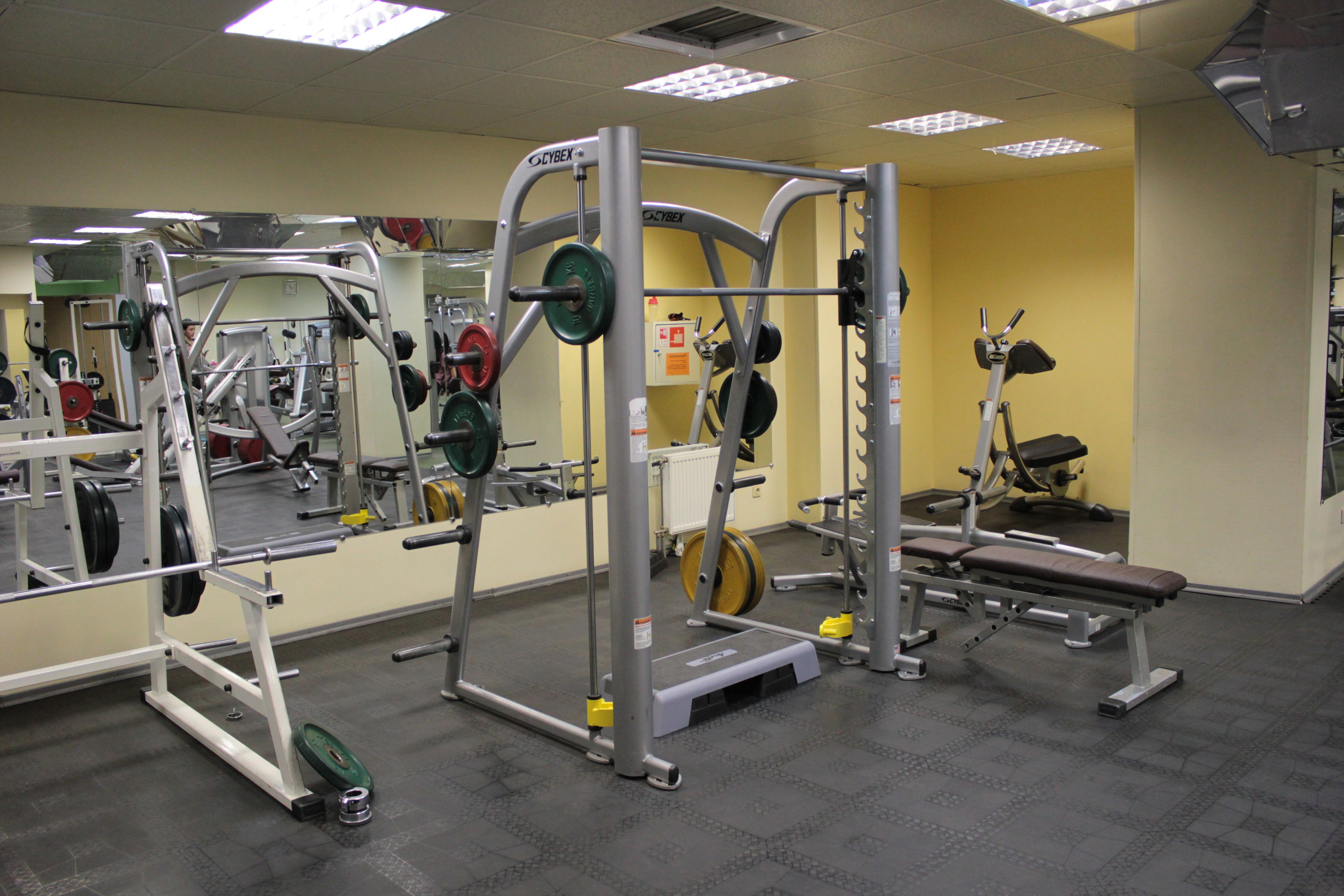 тренажерный зал для похудения