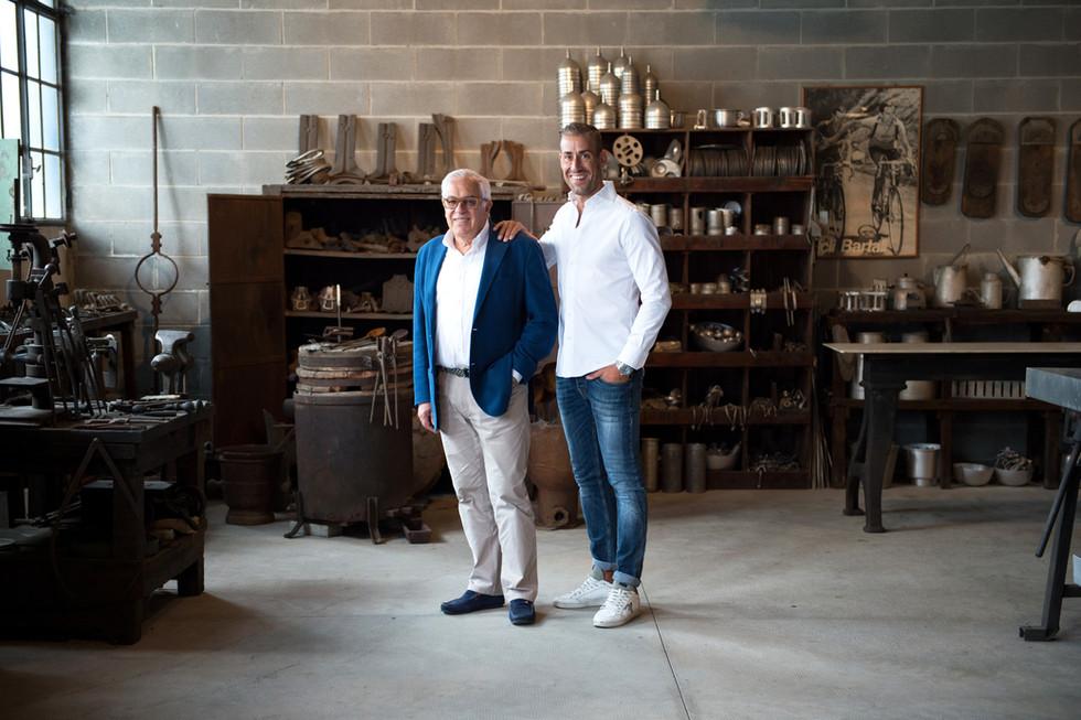 Baldassare e Angelo Agnelli