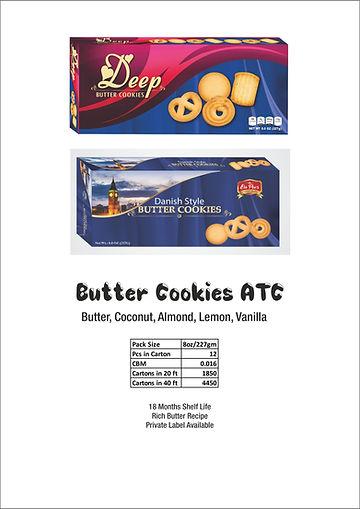 Butter Cookies ATC