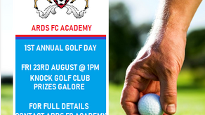Ards FC Academy 1st Annual Golf Day