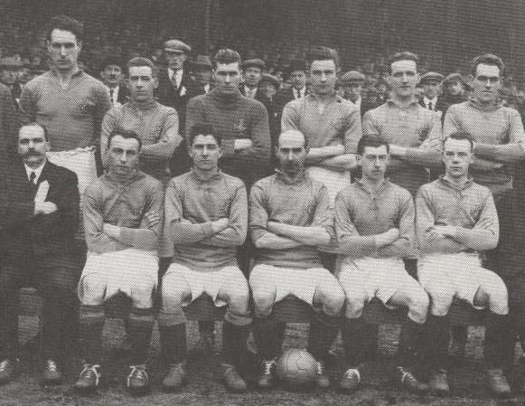 Ireland team v Wales 1926 - Andy  Bothwe