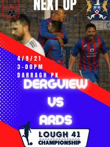 Dergview v Ards Match Preview