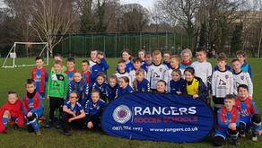2011s v Rangers Academy Girls