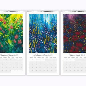 Satuniityllä kalenteri 2019