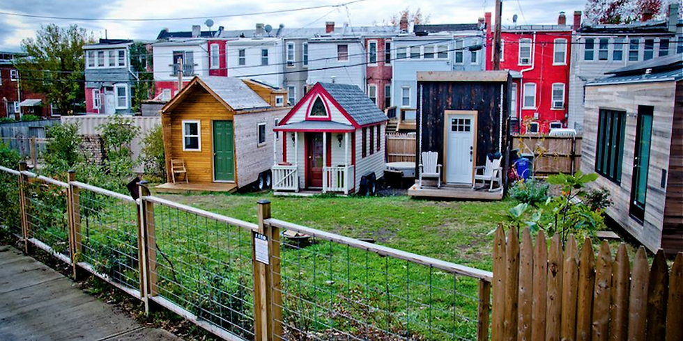 Affordable Housing Block Party - Micro Shelter Reveal  (1)