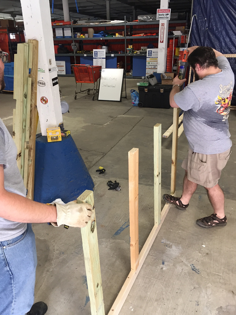 Volunteer Build Event June 9, 2018