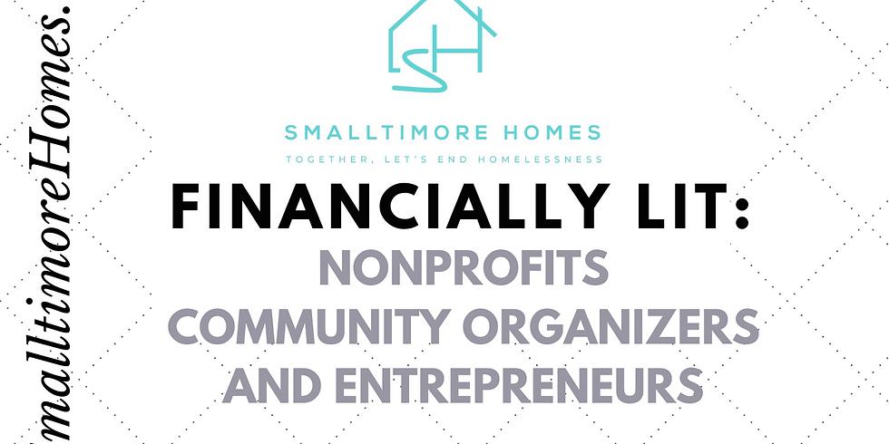 Financially Lit - Nonprofits and Community Organizers