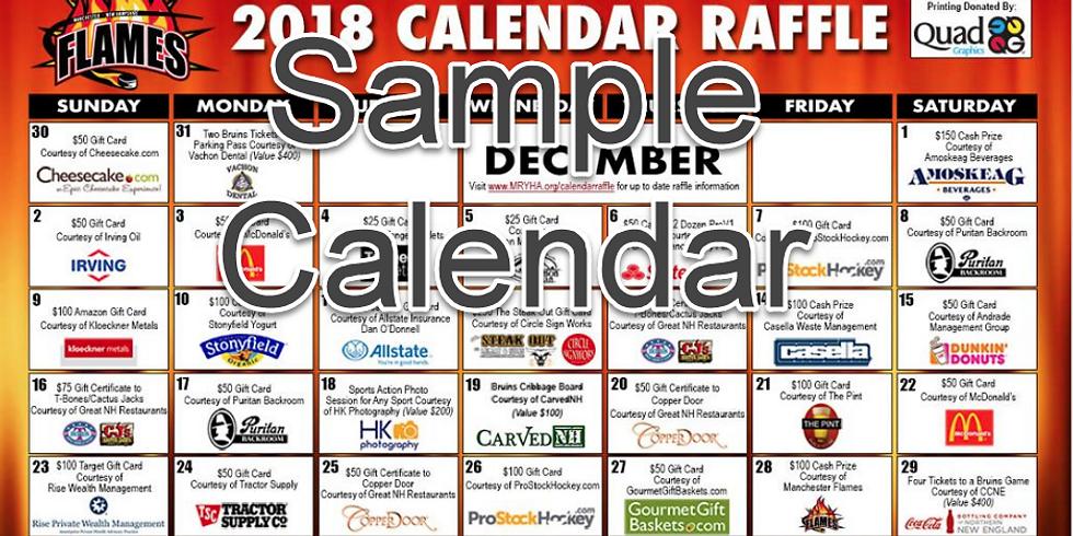 30 Days of Thanks : - Fundraiser Kick Off: Calendar Raffle Contest