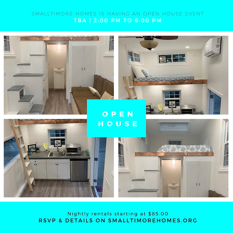 Tiny Home on Wheels - Open House
